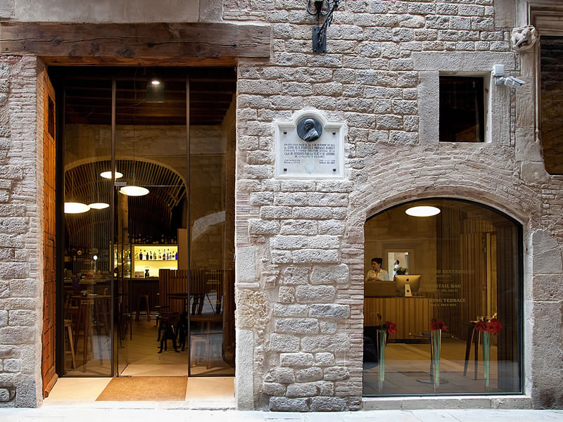 In The Heart Of Barcelona Gothic Quarter