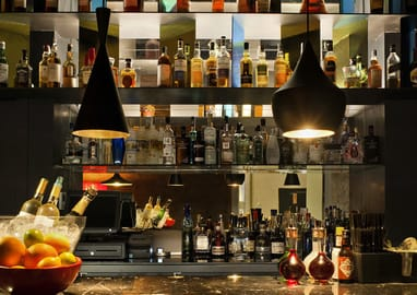 Mercer Cocktail Bar à l'hòtel de luxe Mercer Barcelona