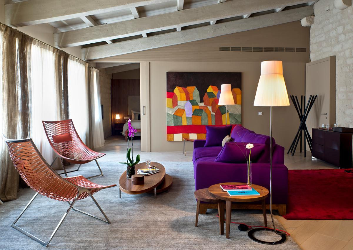 Suite del Mercer Hotel Barcelona