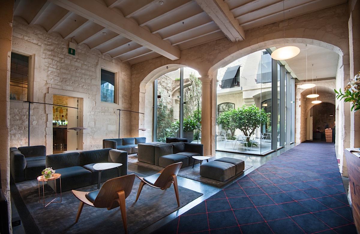 Lobby del Mercer Hotel Barcelona