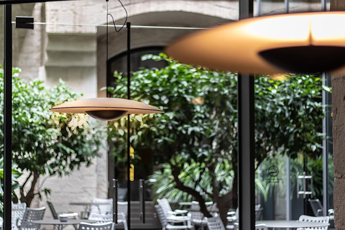 Lobby et Patio du Mercer Hotel Barcelona